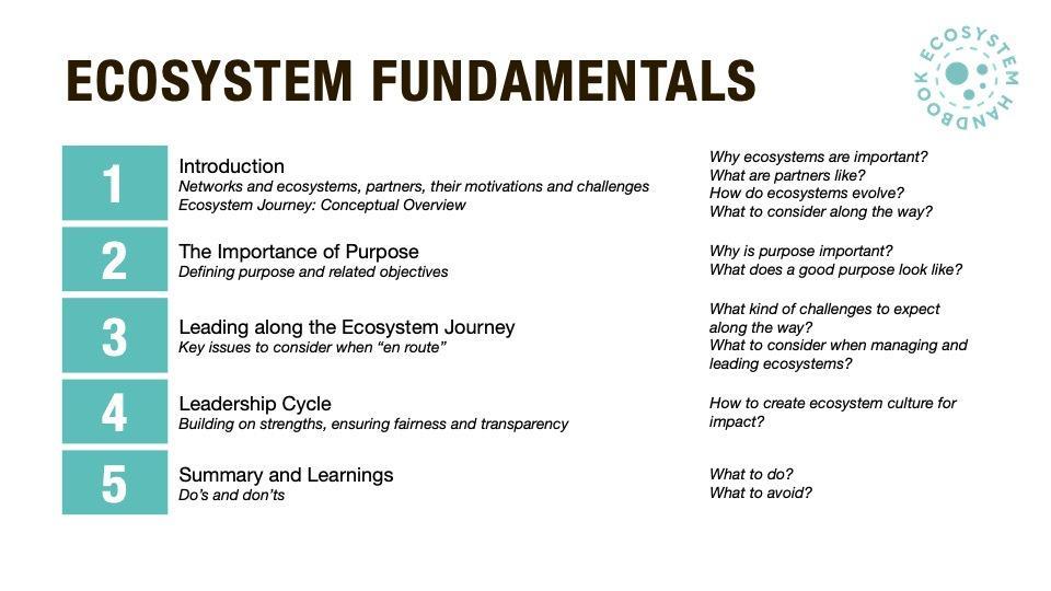 Ecosystem Fundamentals