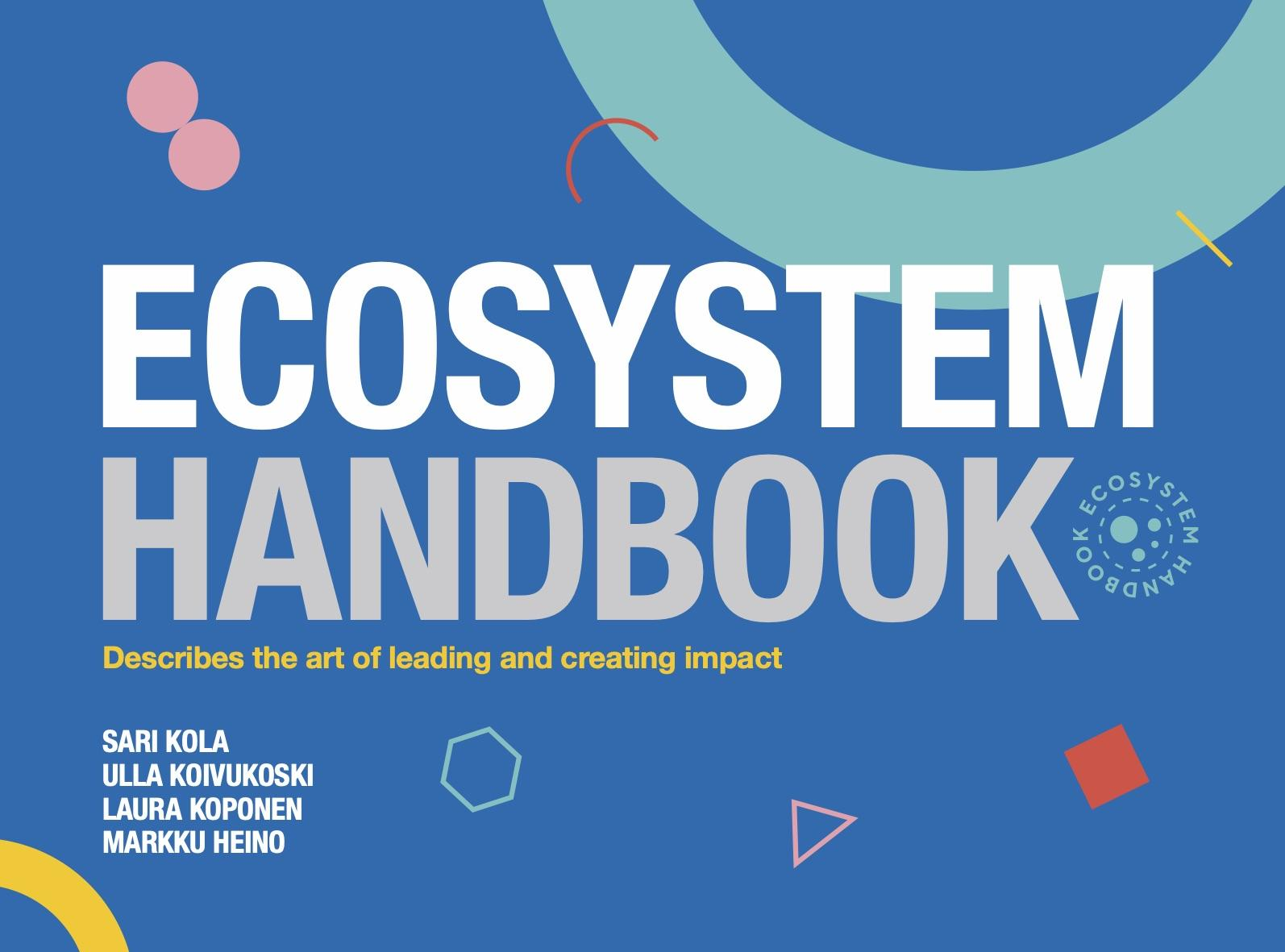 Ecosystem Handbook: Why read it?